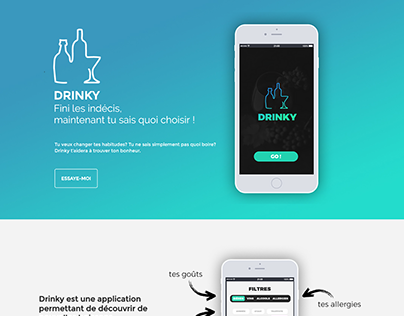 Drinky App   REBOOT-FACTORY