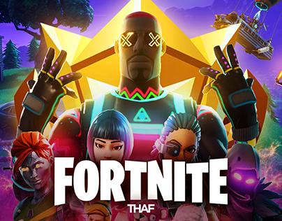 Fortnite - Infinity War Poster