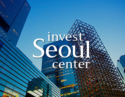 INVEST SEOUL CENTER brand design project