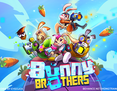 BUNNY BROTHERS game | Illustration | Animation