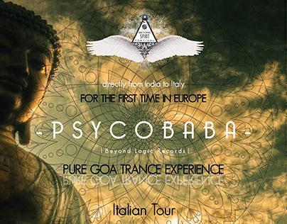 Jacopo Dotti - Graphic - Psycobaba Italian Tour
