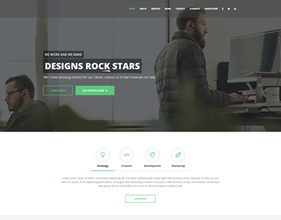 Digital Agency -Wordpress