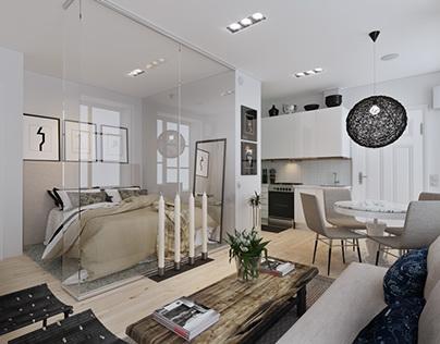 Scandinavian flat