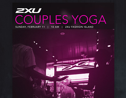 Couples Yoga Flyer