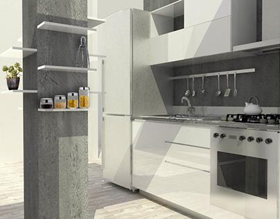 Interior Design: Progettazione cucina