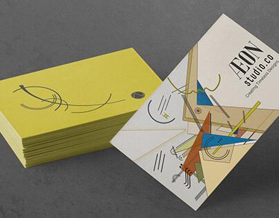 #adobehiddentreasures Bauhaus Business Card