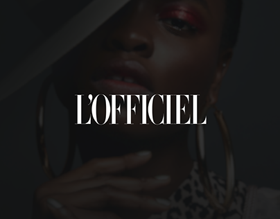 L'Officiel Website Design