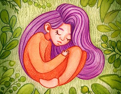 Children's magic illustrations
