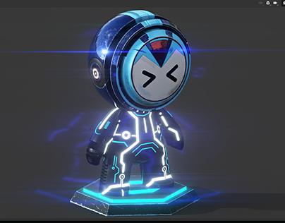 Meet Mat : Rockman + Tron