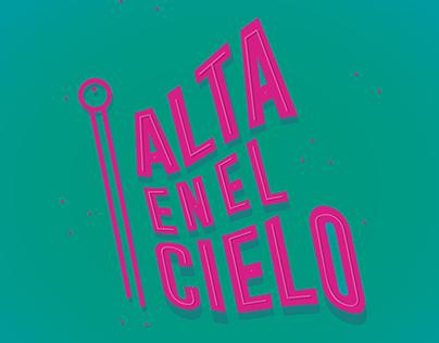 ALTA EN EL CIELO - Banderas de diseño.