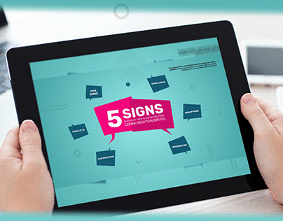 5 signs...