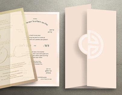 Extravagant Wedding Invitation