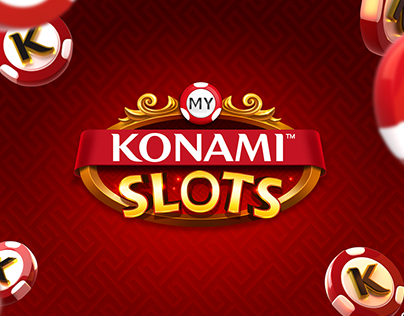 My Konami Slots - App Art Direction