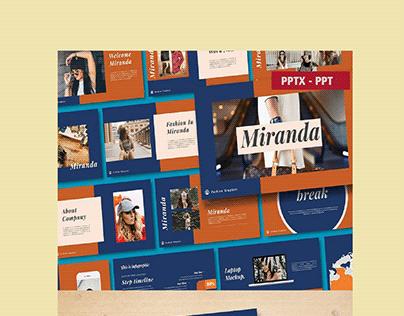 Miranda - PowerPoint Template
