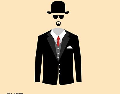 Inktober'21 Day 02: Suit