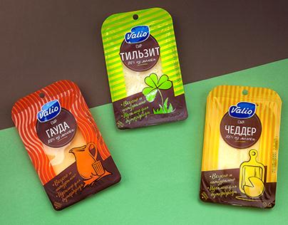 DS1 Branding обновило упаковку сыров Valio