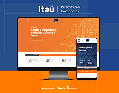 Itaú - Relações com Investidores