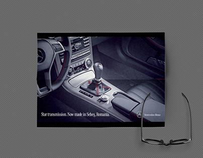 Mercedes Benz print proposal