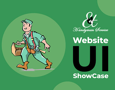 ET Handyman Website UI SHowcase