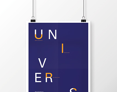Type Classifications // Series Poster