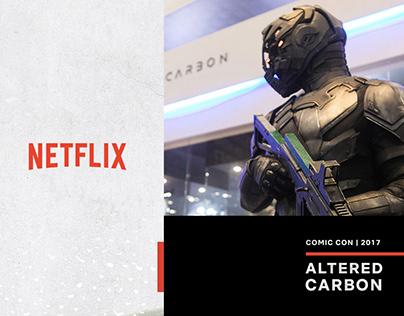 Netflix | Comic Con 2017 | Altered Carbon
