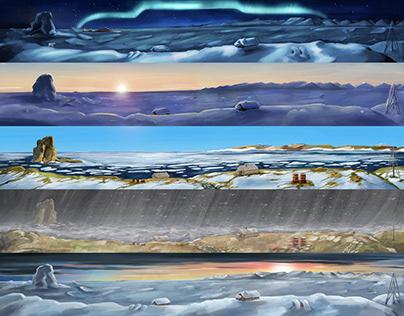 Any Arctic Year animation