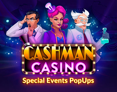 Special Events PopUps for Cashman Casino