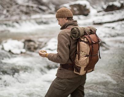 075/2018 backpack, outdoor shooting