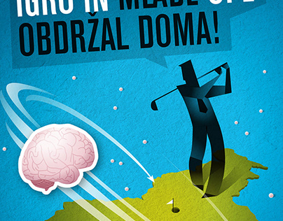 Poster contest Plaktivat - Brain Drain