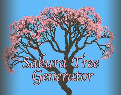 Sakura Tree Generator