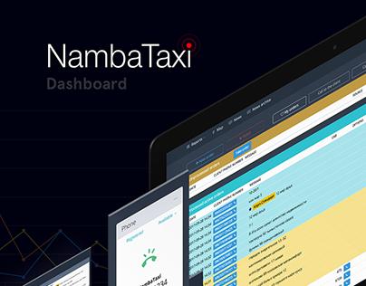 NambaTaxi Dashboard