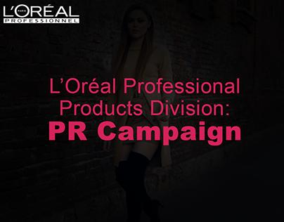 L'Oréal PR Campaign | MDX Assignment