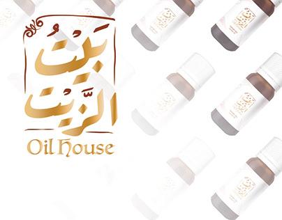 Oil House | Identity & Labels Design