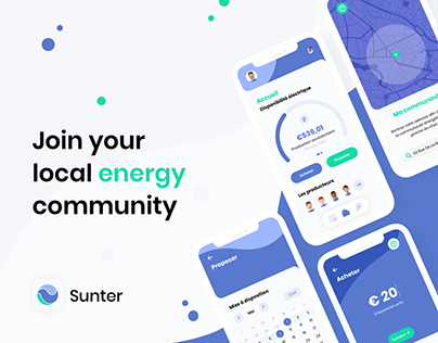 Sunter (Mobile Application) | UX/UI