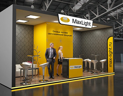 MaxLight - exhibition stand
