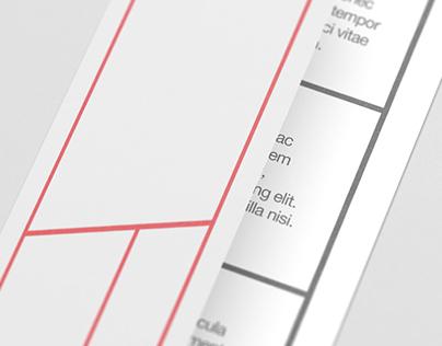 DL Bi-Fold / Half-Fold Brochure Mock-Up