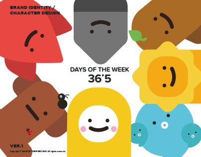DAYS OF THE WEEK 36.5