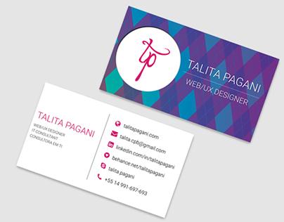 Business Card - Talita Pagani