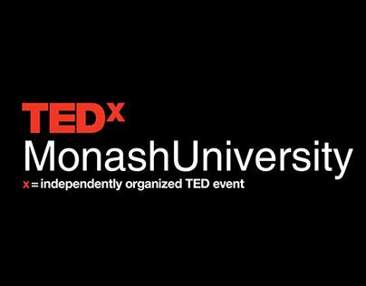 TEDxMonashUniversity -- Social Media Creatives