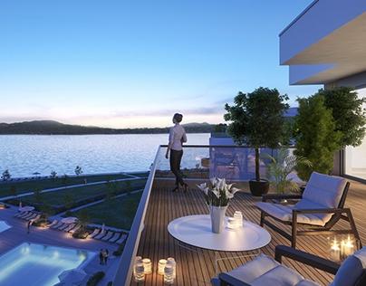 Apartments at Lake Balaton, Balatonfüred, Hungary