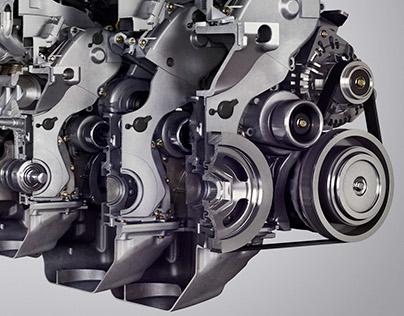 Honda Engine Cutaway