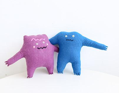 Hugger Monster & Cloudia