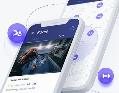 Gyms Booking App