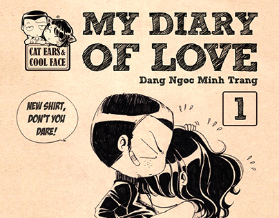 """""""Cat Ears & Cool Face""""_My diary of LOVE"""