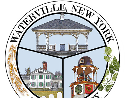 Village of Waterville NY Seal/Logo