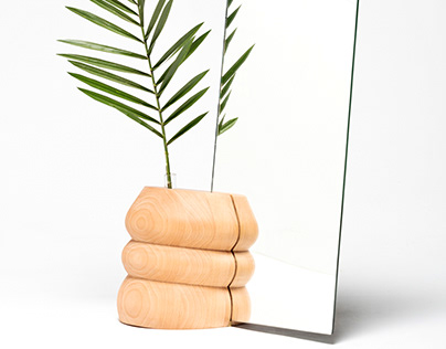 Vitrolera Table Mirror