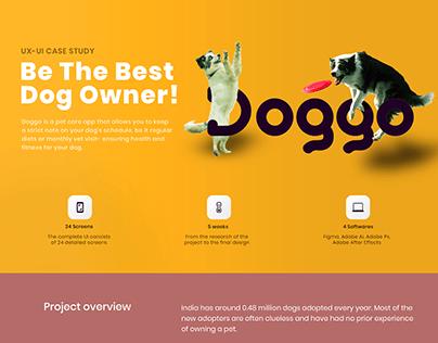 Doggo Dog Care App   UI/UX Case Study
