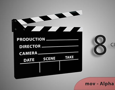 Clapperboard Transitions