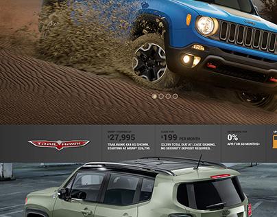 Website Jeep Renegade
