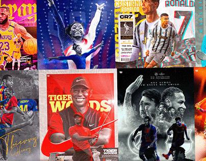 Esportes e Seus atletas destaques